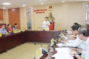 Kỳ họp thứ 9, HĐND tỉnh Nghệ An dự kiến chất vấn 2 nhóm vấn đề