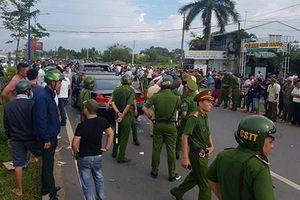 Vụ giang hồ vây xe chở công an ở Đồng Nai: Khởi tố 3 bị can