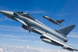 Đức: Hai máy bay chiến đấu Eurofighter va chạm trên không