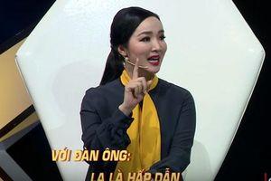 Hoa hậu Giáng My: 'Đàn ông không vì ngoại tình mà về bỏ vợ'