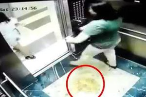 Cư dân tòa nhà bị 2 phụ nữ tè trong thang máy không đồng tình với mức phạt 2 triệu