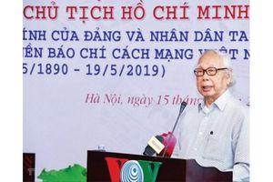 Phan Quang: Nhà báo nhân văn tầm cỡ qua tác phẩm viết về Bác Hồ