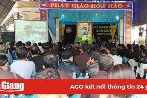 Công an huyện Phú Tân học Bác nhiều mô hình thiết thực