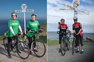 Cụ bà 81 tuổi đạp xe hơn 1.500 km suốt chiều dài nước Anh