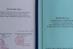 Vụ không bán HSMT tại Công ty TNHH MTV Khai thác công trình thủy lợi Gia Lai: Thừa nhận sai sót