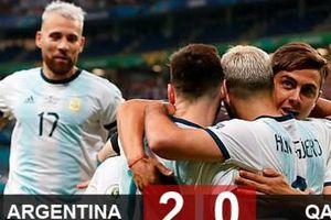 Argentina 2-0 Qatar: Vượt qua cửa tử