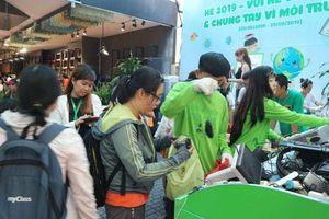 Chương trình thu gom rác điện tử: Lan tỏa việc làm ý nghĩa
