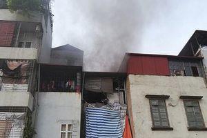 Xử lý kịp thời sự cố cháy nhà dân do chập điện