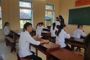 Nam Định: Thí sinh vui vẻ sau buổi thi đầu tiên