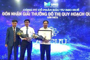 Huế: KĐT duy nhất nhận giải thưởng quy hoạch đô thị quốc gia