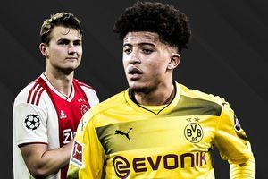 De Ligt và Sancho nổi trội ở top đề cử Golden Boy 2019