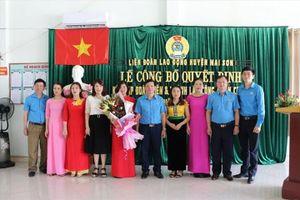 Sơn La: LĐLĐ huyện Mai Sơn thành lập thêm công đoàn cơ sở