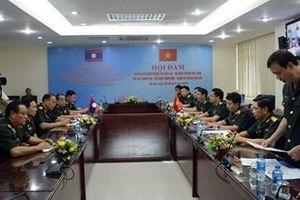 Ký Bản ghi nhớ kỹ thuật về thiết lập đường thông tin nóng giữa Bộ Quốc phòng hai nước Việt Nam - Lào