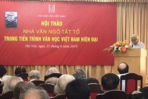 Hội thảo 'Nhà văn Ngô Tất Tố trong tiến trình văn học Việt Nam hiện đại'