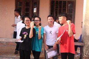 Nghệ An: Thời tiết nắng nóng trong buổi thi đầu tiên