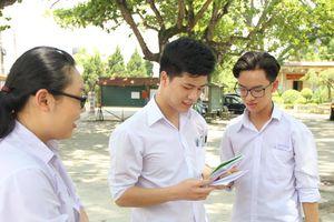Sau môn Văn, thí sinh tự tin bước vào môn thi trắc nghiệm đầu tiên