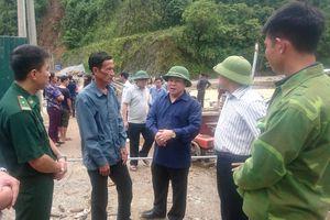 Lai Châu: Tập trung khắc phục mưa lũ và tìm kiếm người mất tích