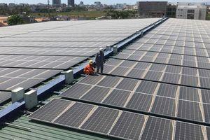 Hòa lưới hệ thống điện mặt trời gần 1 MWp