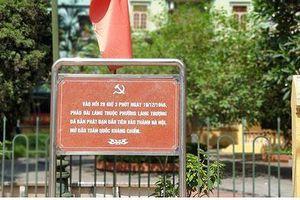 Tiếp bài Dự án đường Huỳnh Thúc Kháng kéo dài: Di tích Pháo Đài Láng bị ảnh hưởng nghiêm trọng?