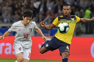Tuyển Nhật Bản bị loại khỏi Copa America 2019