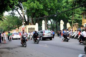 Hà Nội: Giao thông ổn định trong sáng ngày đầu kỳ thi THPT Quốc gia 2019