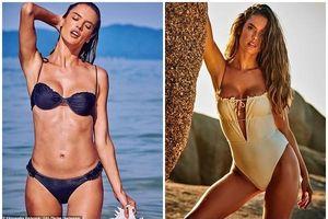 Thân hình rực lửa của cựu 'thiên thần nội y' Victoria's Secret