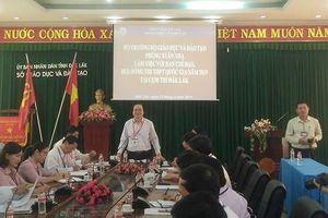 Bộ trưởng Phùng Xuân Nhạ: Cái quạt, trần nhà, góc tường cũng phải xem xét
