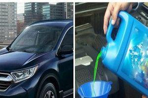 Nước làm mát trên ô tô - những lưu ý 'sống còn' đối với động cơ tài xế cần biết