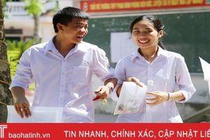 Kết thúc ngày đầu kỳ thi THPT quốc gia: Hà Tĩnh không có thí sinh vi phạm quy chế
