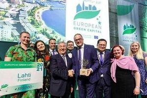 Thành phố Lahti của Phần Lan trở thành Thủ đô Xanh của châu Âu