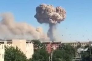 Kazakhstan điều tra hình sự vụ nổ kho đạn khiến 167 người thương vong
