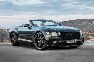 Khám phá siêu xe mui trần mạnh 550 mã lực của Bentley