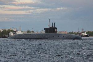 Chiêm ngưỡng hình hài siêu tàu ngầm Borei A đầu tiên của Nga