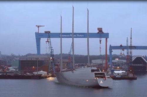 CLIP: Chiêm ngưỡng siêu du thuyền trị giá 360 triệu bảng