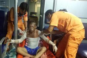 Cứu nạn thuyền viên bị bỏng nặng trên vùng biển Bà Rịa – Vũng Tàu