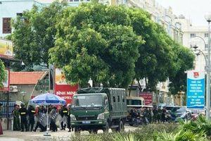 Vụ xô xát ở Hải Tiến: Hàng chục cảnh sát vẫn phải cắm chốt