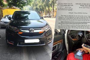 Sự cố chân phanh trên Honda CR-V: Do người dùng sử dụng không đúng?