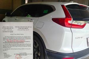 Vụ CR-V lỗi chân phanh: Honda ra thông cáo khi chưa có kết luận của Cục Đăng kiểm