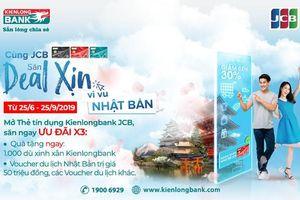 Cơ hội du lịch Nhật Bản khi mở thẻ tín dụng quốc tế Kienlongbank JCB