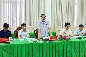 Đoàn giám sát của ủy ban thường vụ Quốc hội về thực hiện quản lý, sử dụng các quỹ Tài chính Nhà nước ngoài ngân sách tại Cần Thơ