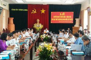 Vĩnh Long chuyển giao tổ chức đảng, đảng viên chi cục thuế và kho bạc nhà nước cấp huyện về Cục Thuế và Kho bạc Nhà nước tỉnh