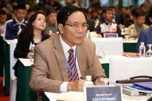 Vì sao Phó Chủ tịch VFF Cấn Văn Nghĩa xin từ chức?