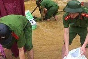 Bộ Công an chỉ đạo về việc ứng phó với diễn biến mưa lũ
