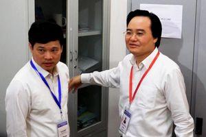 Bộ Trưởng Phùng Xuân Nhạ kiểm tra thi THPT Quốc gia 2019