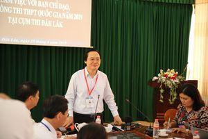 Bộ trưởng Phùng Xuân Nhạ yêu cầu phải chấm lại những bài thi điểm cao