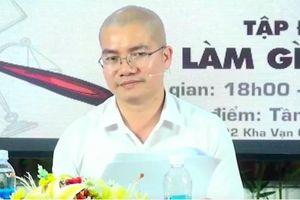 Tổng Giám đốc địa ốc Alibaba livestream xin lỗi, giải thích việc lộng ngôn, xúc phạm cán bộ Nhà nước