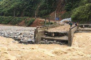 Tìm thấy thi thể 1 trong 3 công nhân thi công đường bị lũ cuốn ở Lai Châu