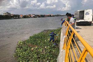 Cùng lúc phát hiện 2 thi thể nam giới trên sông Sài Gòn