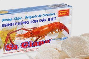 Bánh phồng tôm Sa Giang sẽ được bán... 400 tỉ đồng