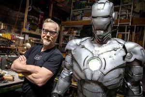 Chế tạo bộ giáp Iron Man ngoài đời thực, có thể bay và chống đạn